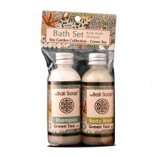 Bath Set/ Sea Garden Green Tea
