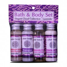 Bath&Body Set / Elegant Cloud Collection.