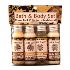 Bath&Body Set / Flower Batik Sandalwood
