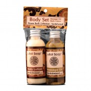 Body Set/Flower Batik Sandalwood