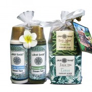 Gift Hamper Flower - MIX - Green Tea