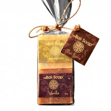 Clear Wrap Gift Set - Spice Vanilla & Lemongrass