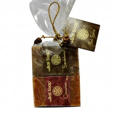 Clear Wrap Gift Set - Spice - Cinnamon & Sandalwood