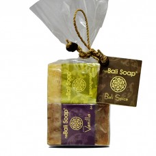 Clear Wrap Gift Set - Spice - Vanilla & Lemongrass