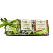 Plastic Gift Set with ribbon Mix Collection -BB Coffee. JT Lemongrass. Exo Tuberose